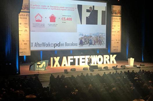 aggity asiste al IX Afterwork APD en Barcelona