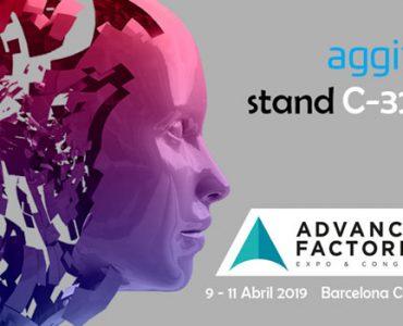 aggity en Advanced Factories 2019