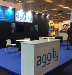 Stand de aggity en Advanced Factories 2019