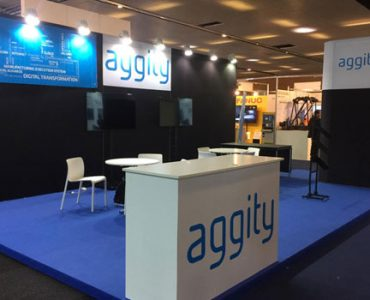 Stand de aggity en Advanced Factories 2019